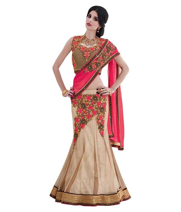 Naksh - Naksh Creation Embriodered Fashion Net Sari