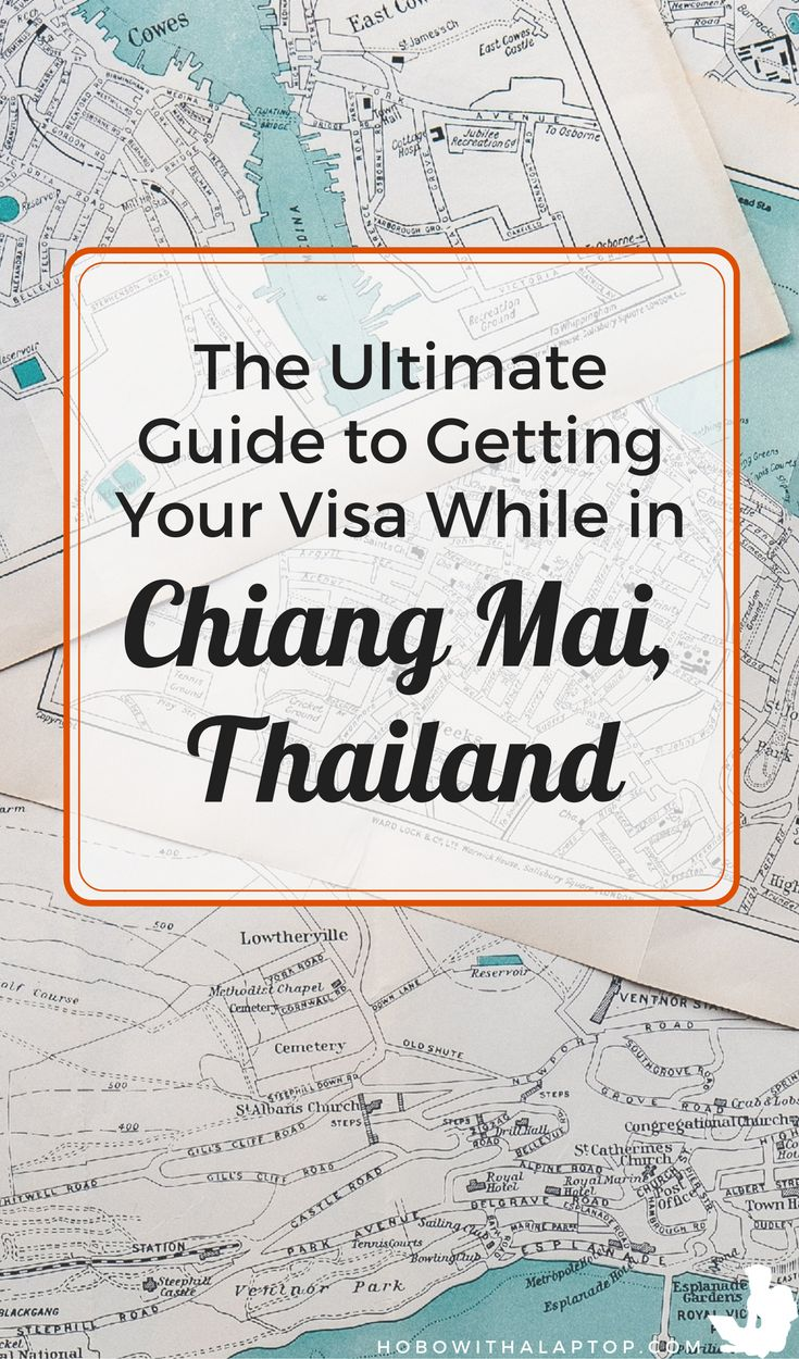 Visas can be a headache but they're a requirement if you're a digital nomad living in another country for long periods of time. If you're living in Chiang Mai, Thailand, this comprehensive guide will show you how to process your visa including border runs. - http://hobowithalaptop.com/everything-you-need-to-know-about-travel-visas-to-work-remotely-in-thailand