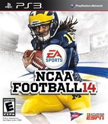 NCAA Football 14 PS3. $66 delivered.  Deal ends today.  Released July 9.