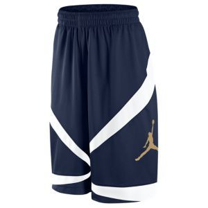 Jordan Triangle Triumph Short - Men's - Basketball - Clothing - Obsidian/White