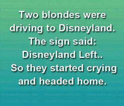 Dumb Blonde Jokes Quotes