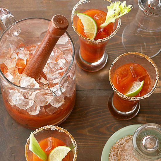 Put a twist on the classic bloody mary cocktail with our spicy beer mary recipe. It's the perfect cocktail to have at your game day party with beer mixed with spicy tomato juice and other tasty seasonings!