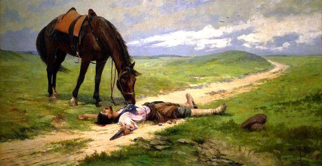 Antonio Parreiras – Fim de Romance – 1912