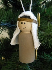 Cute shepherd ornament idea