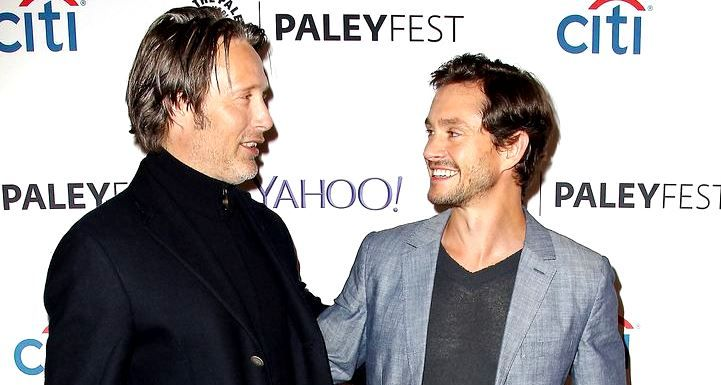 "magicwhodreamer: ""Real-Life Friendships: Mads Mikkelsen & Hugh Dancy Bryan Fuller: i'd seen them together in that movie and i knew that their friendship would come through on screen [empire uk] B: Mads and Hugh, there were a lot of takes where they..."