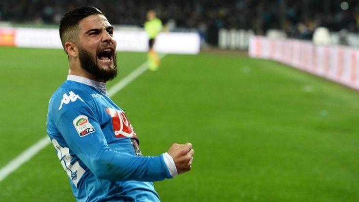 voglio lo scudetto, cosi' si puo' riassumere il discorso fatto dal giovane attaccante del Napoli.Brevi ma coincise dichiarazioni.