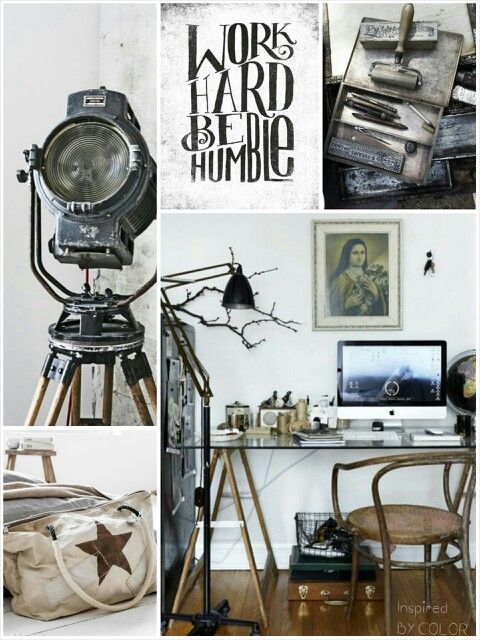 MOODboard | Work hard be humble. Inspired BY COLOR #ankemosselman