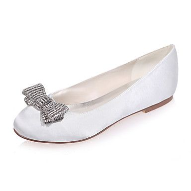 Women's+Wedding+Shoes+Round+Toe+Flats+Wedding+/+Party+&+Evening+Wedding+Shoes+More+Colors+available+–+USD+$+37.99