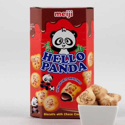 Meiji Hello Panda Cookies. These are sooo good they have chocolate strawberry and I think vanilla.
