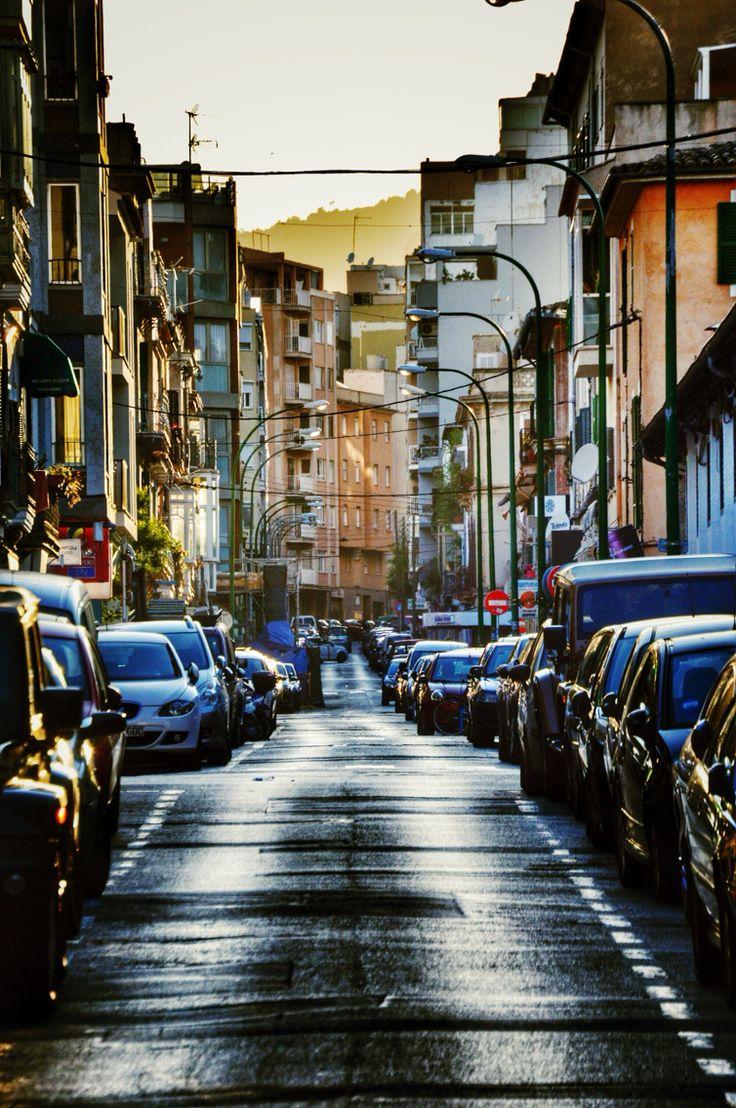 Ancient streets of Palma