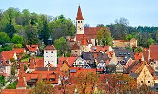 Giles Milton toured Bavaria, a region in southern Germany famed for its beer, where he also marvelled at attractions including the Altmuhltal national park and the castle of Eichstatt.
