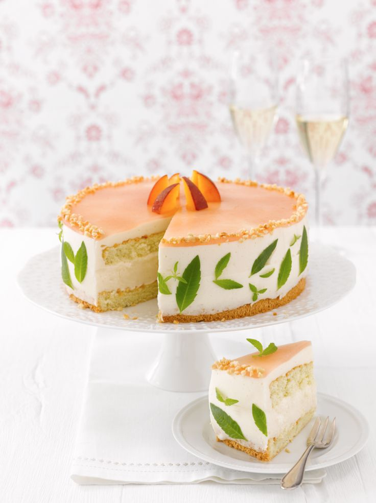 NO RECIPE Pfirsich-Prosecco-Torte   Sweet Dreams Blog