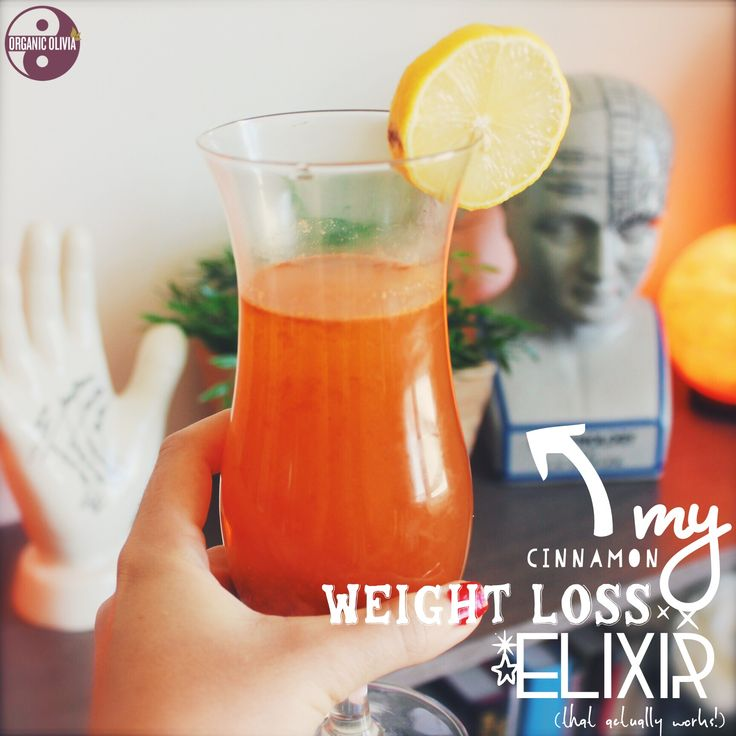 The Easiest Way to Lose Weight: My Cinnamon Weight Loss Elixir (that actually works!) | Organic Olivia