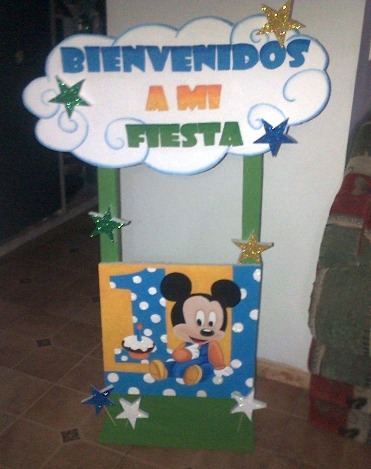 Bienvenidos Mickey Mouse Baby