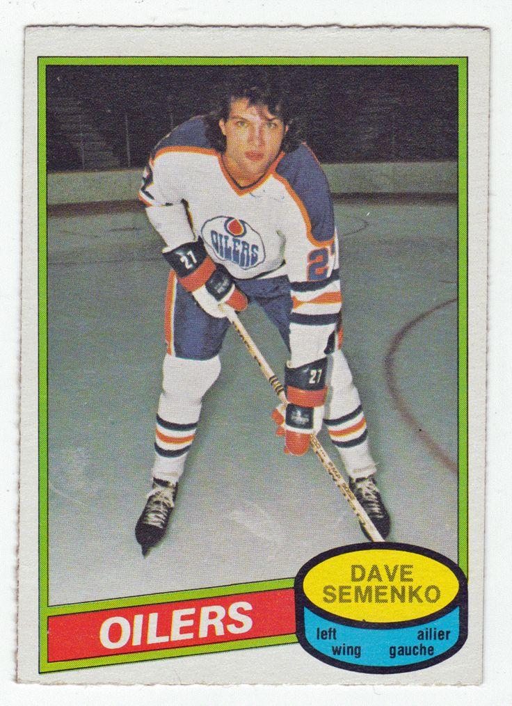 Dave Semenko 360 198081 OPeeChee Hockey Hockey