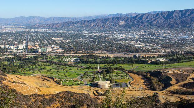 Hollywood Griffith Park Mountains