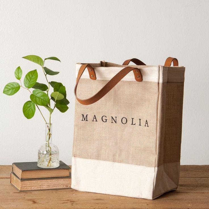 """""""Magnolia"""" Market Tote $64"""