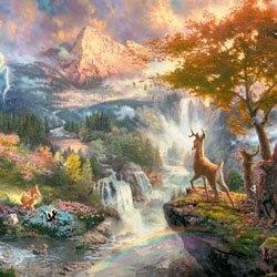 Thomas Kinkade, Disney Art                                                                                                                                                                                 More