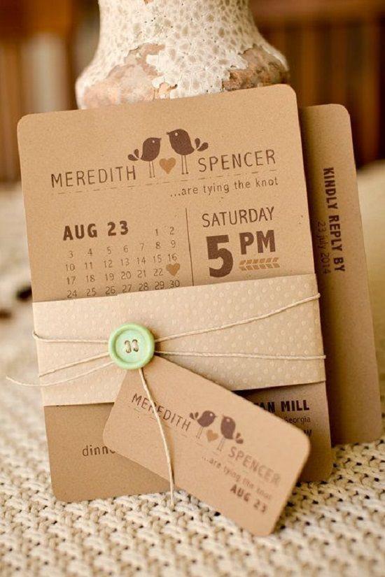 invitaciones de boda creativas 21
