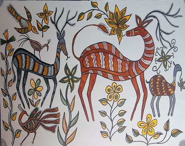 Sohrai Tribal Art (India)