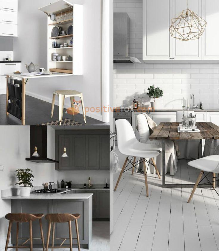 Scandinavian Kitchen • Scandinavian Home • Scandinavian Interior Design | Explore more Scandinavian Kitchen Ideas on https://positivefox.com
