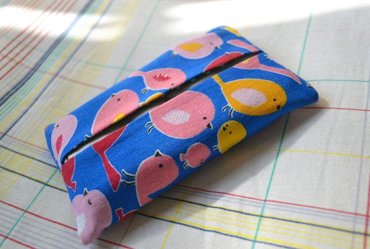 Porta-lenços Passarinhos | R$10,00