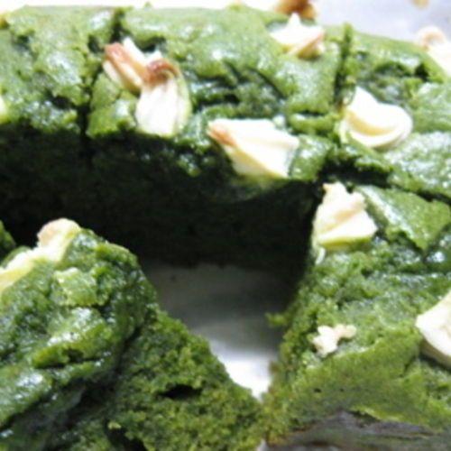 Green tea matcha brownies[dessert]
