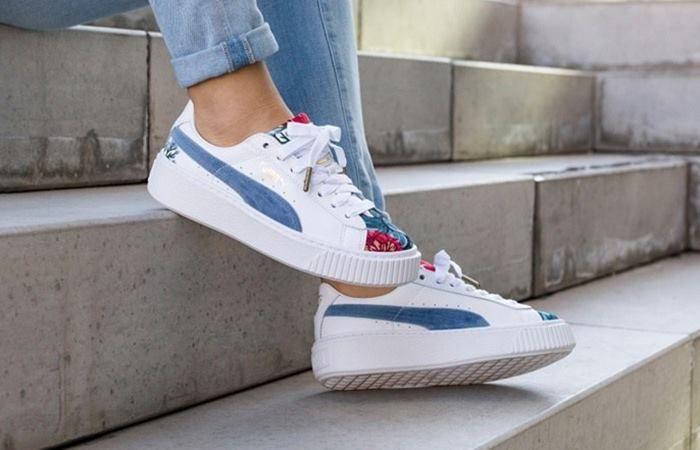 3bc05832f06 PUMA PLATFORM HYPER EMBROIDERED WMNS | PUMA in 2019 | Shoes, Puma ...