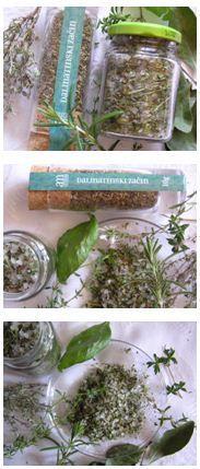 Dalmát fűszerkeverék Isztriából hazafelé jövet vásárolva - Így főz anyátok