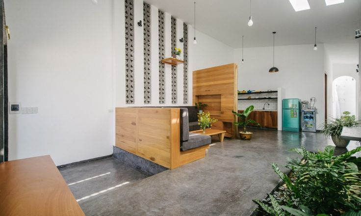 Modern house with ideas interior lofts Style (11)