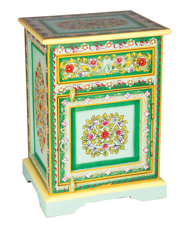 Best Loving This Green Blue Nightstand On Zulily 400 x 300