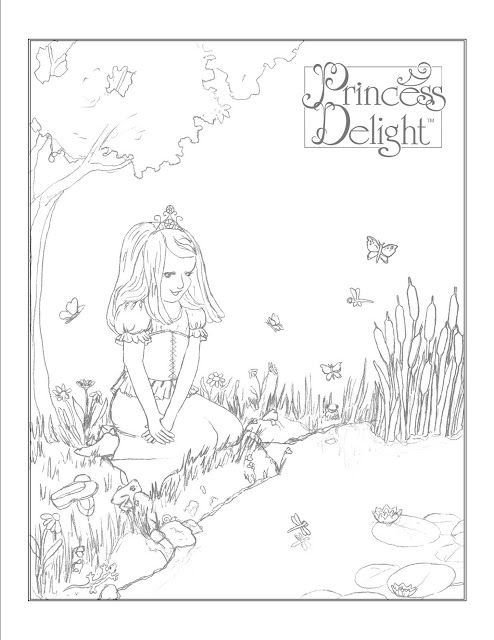 Princess Kate Coloring Pages : Images about princess delight on pinterest