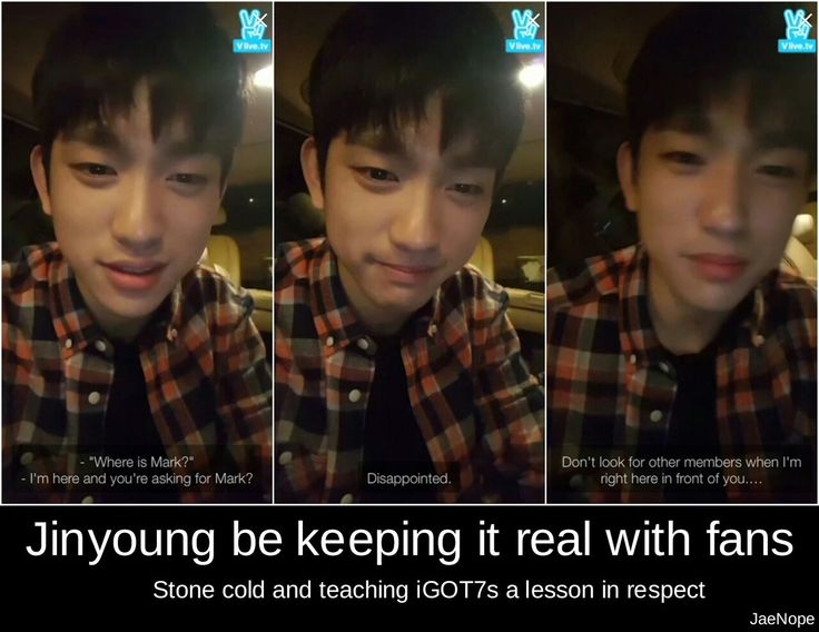 Well he is right...! I know you love your bias but if a member is live don't ask for other members they may feel hurt :-(