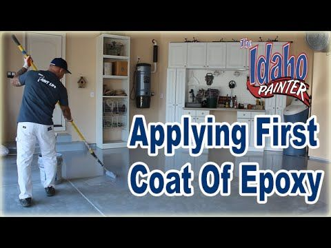 how to apply epoxy clear coat