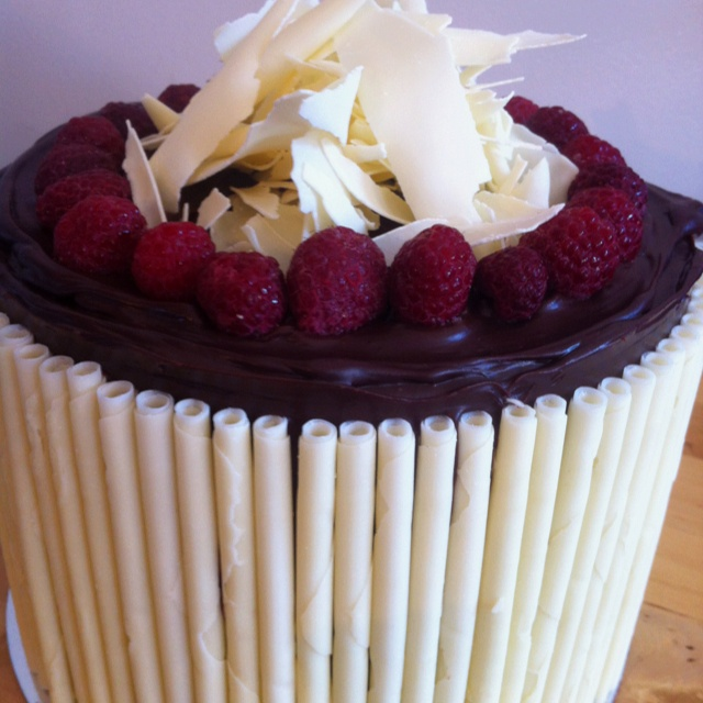 Chocolate Raspberry Mudcake