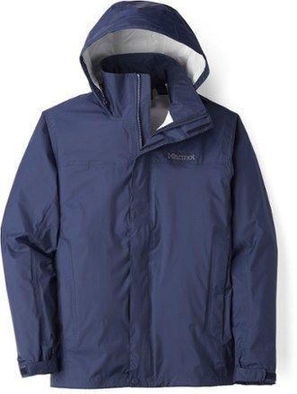 Marmot Men's PreCip Rain Jacket Dark Spruce XXL | Rain jacket ...