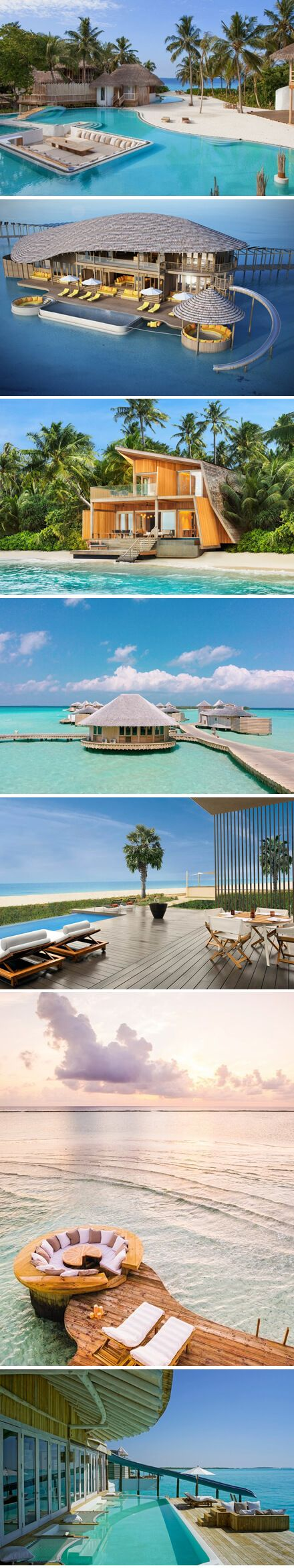 Dream of Maldives... The Soneva Jani Resort