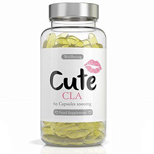 Gelules De CLA – brûleur de graisse naturel – Chaque gélule contient 1000 mg d'Acide Linoléique Conjugué – Complément alimentaire pour…