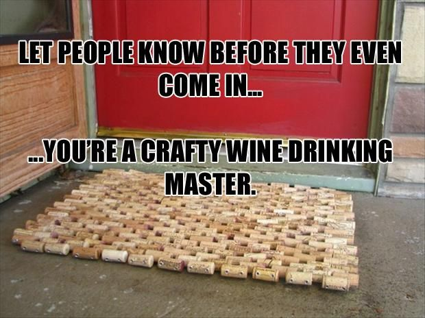 Diy and crafts 10 handpicked ideas to discover in diy for Wine cork welcome mat