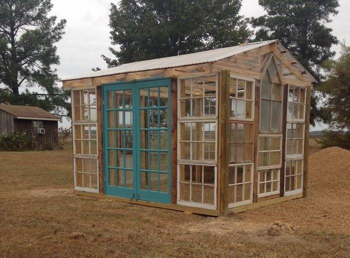 Wie Man Ein Gewachshaus Aus Alten Fenstern Baut Alten Aus