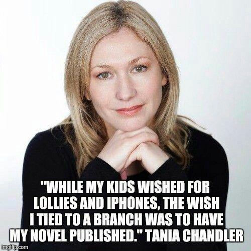 Tania Chandlet Crime fiction author.