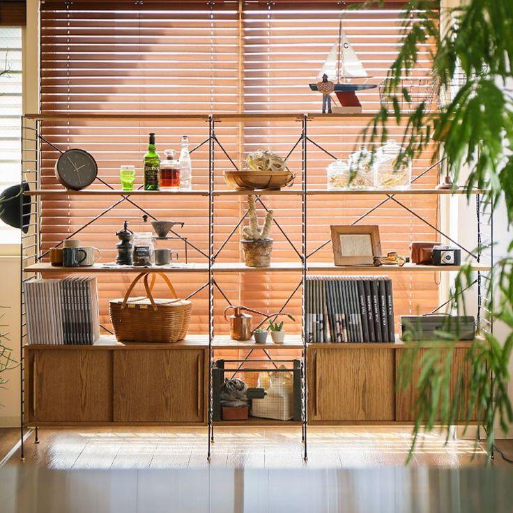 R.U.S リビング収納 Aタイプ(幅230cm×高さ165cm) 家具・インテリア通販 Re:CENO【リセノ】