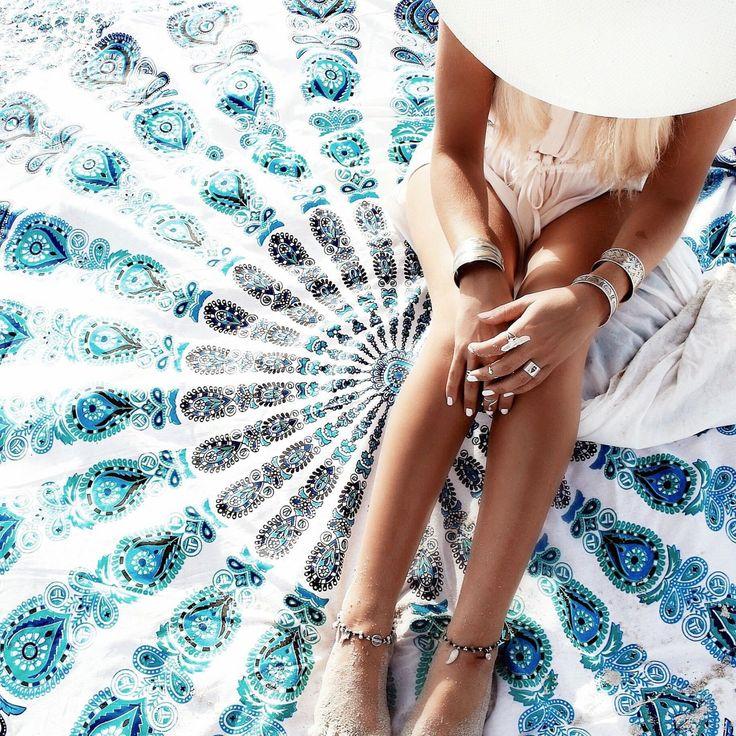 OMG I need that mandala towel/rug!!!!