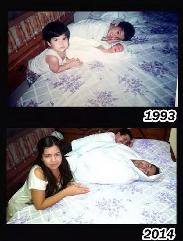 78 Heart Touching Family Photo Recreation Ideas from Stylish Eve Fans