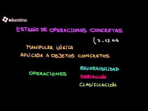 Estadios del desarrollo cognitivo según Piaget - YouTube