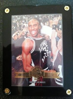 Kobe Bryant * 1996 * High School Press Pass Rookie Year *Los Angeles Lakers / Lower Merion FREE Ship $12.95