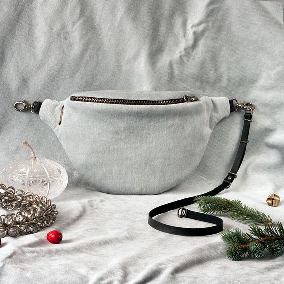 Anacomito Velvet Belt Bag  Fanny Pack, Bumbag, Waist Bag