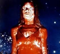 Carrie 1976  The creepiest part of this movie was Sissy Spacek herself - perfect casting! First Stephen King book I read - the movie did not disappoint!