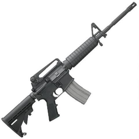 """Bushmaster M4A3 Patrolman AR-15 5.56 NATO Semi Auto Rifle, 16"""" Barrel 30 Rounds - 90289 - 604206072252"""