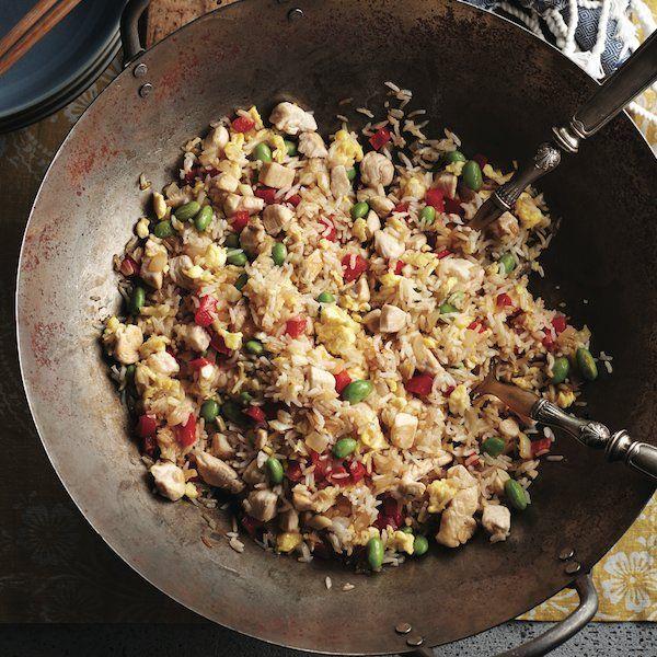 Garlicky chicken fried rice recipe - Chatelaine